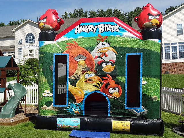 Angry Birds Moonbounce