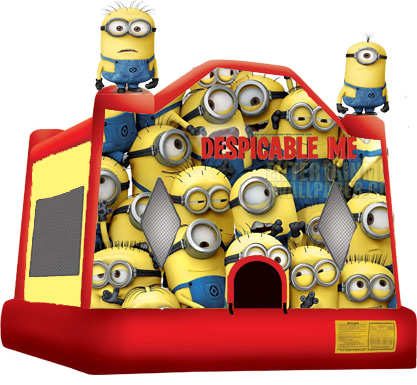 Despicable Me Moonbounce