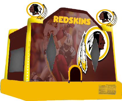 Redskins Bounce House