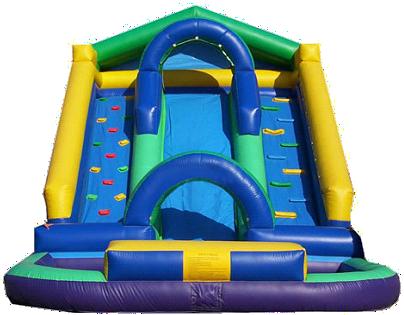 Dual Lane Pool Slide