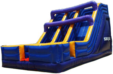 Double Lane Giant Slide