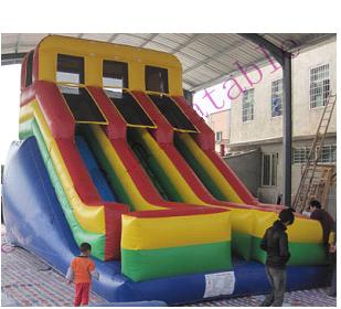 Dual Lane Fun Slide