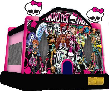 Monster High Moonbounce  sc 1 st  Bouncy Rentals LLC & Party Supplies and Rentals in Baltimore Maryland by Bouncy ...