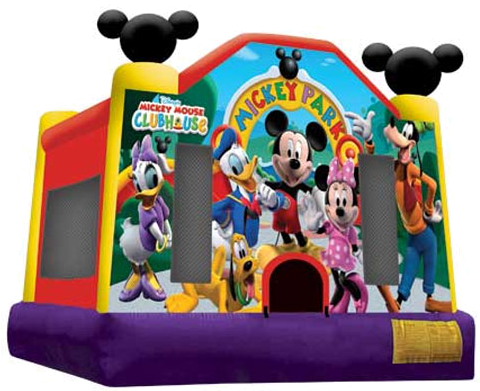 Mickey and Friends Moonbounce