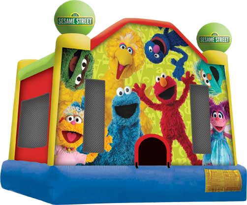 Sesame Street Moonbounce