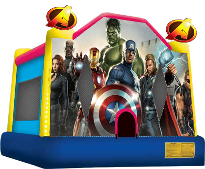 Avengers Inflatable Moonbounce