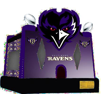 Ravens Football Combo Bounce