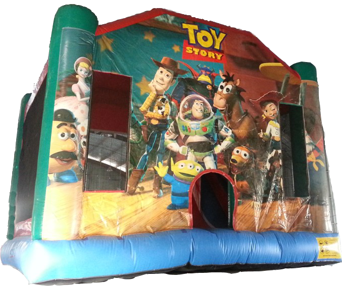 Toy Story combo moonbounce