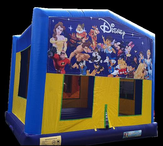 Blue Themed Bouncer
