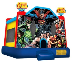 Justice League Moonbounce