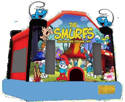 Smurfs Moonbounce