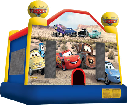 Cars Moonbounce