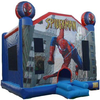 Spider-Man Moonbounce