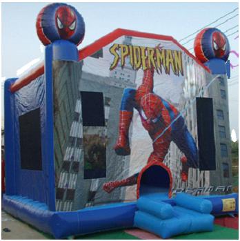Spider-Man Moonbounce