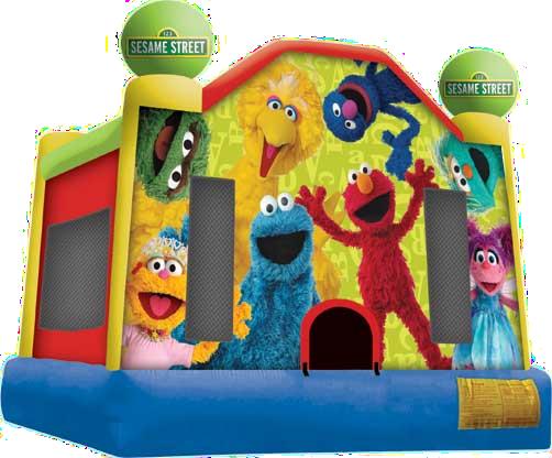 Sesame Street Moonbounce